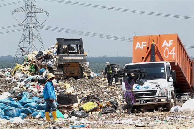Prolonging life of dumpsites